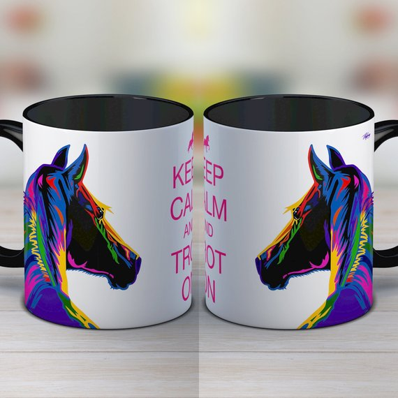 Coffee Mug for Horse Lovers