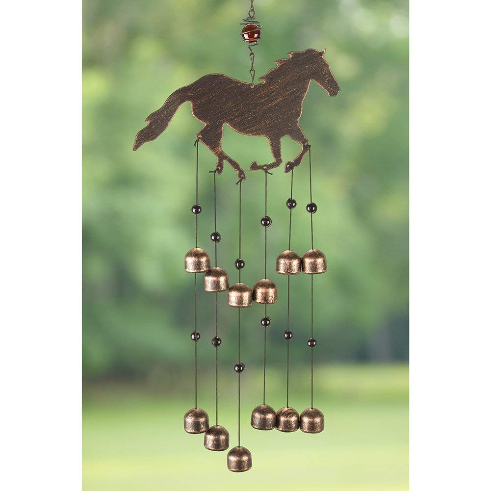 ​Dazzling Horse Wind Chime