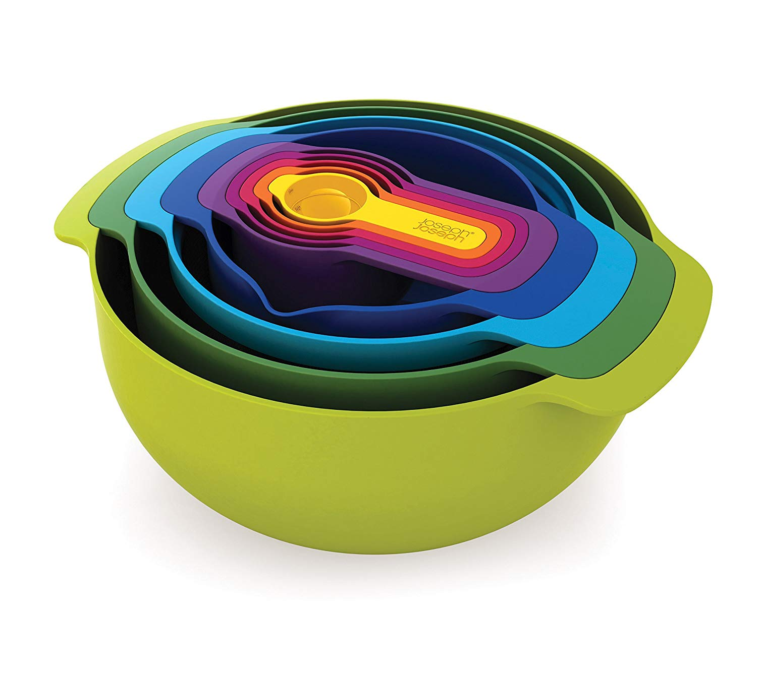 Joseph Joseph Multi-Colored Bowls Set