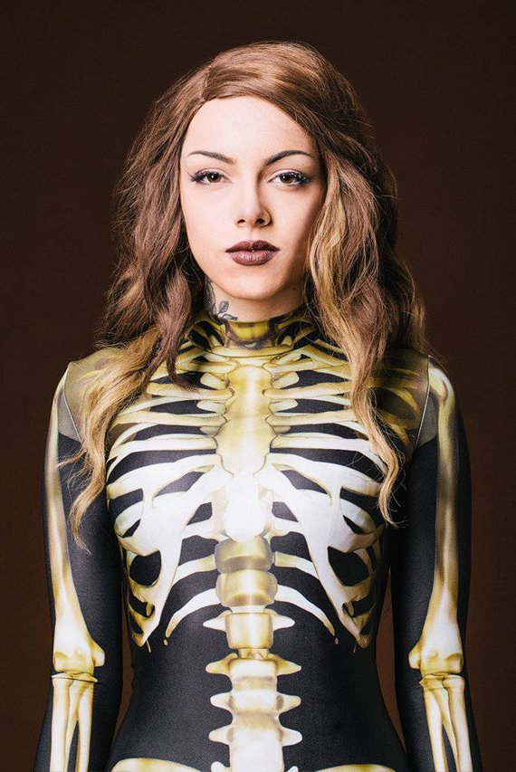 Skeleton Bodysuit Costume