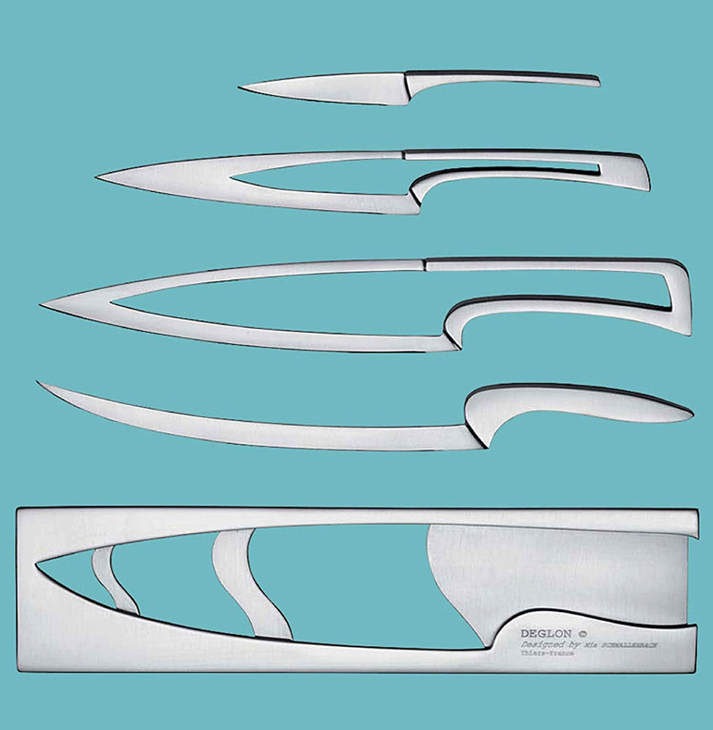 Deglon Meeting Set, Stainless Knife Set