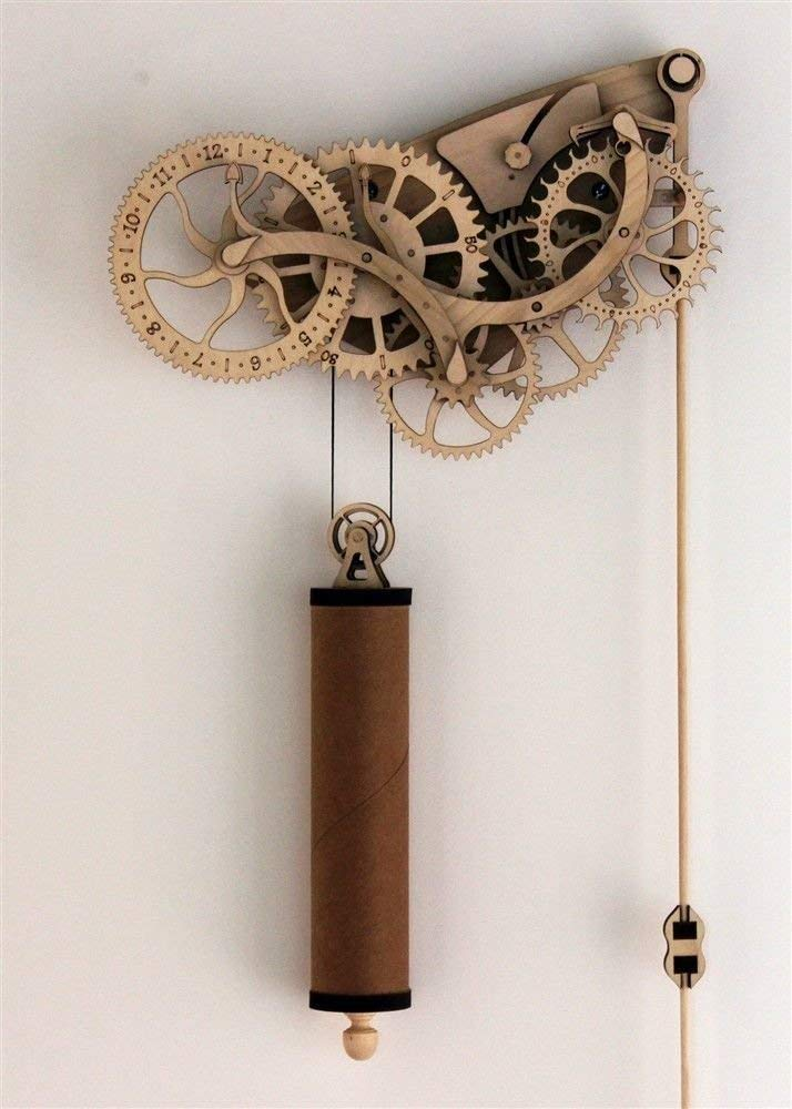 Abong Handcrafted Mechanical Wooden Pendulum Clock