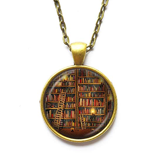 Daozhang Vintage Library Necklace​​​​