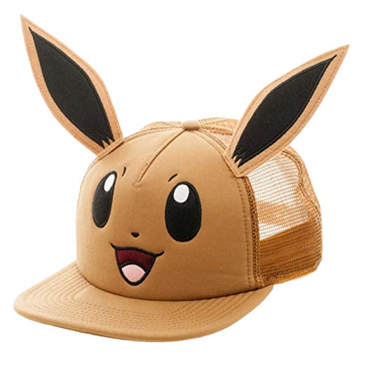 Pokemon Hat-Eevee Baseball Hat with Ears