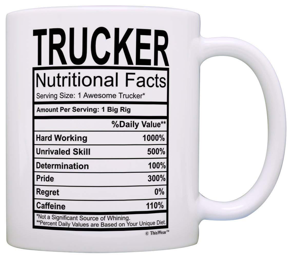 Trucker Coffee Mug