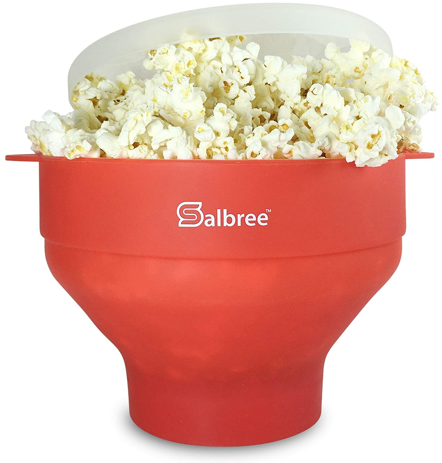 Microwave Popcorn Popper with Lid