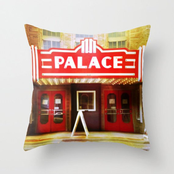 Theater Pillow Cover