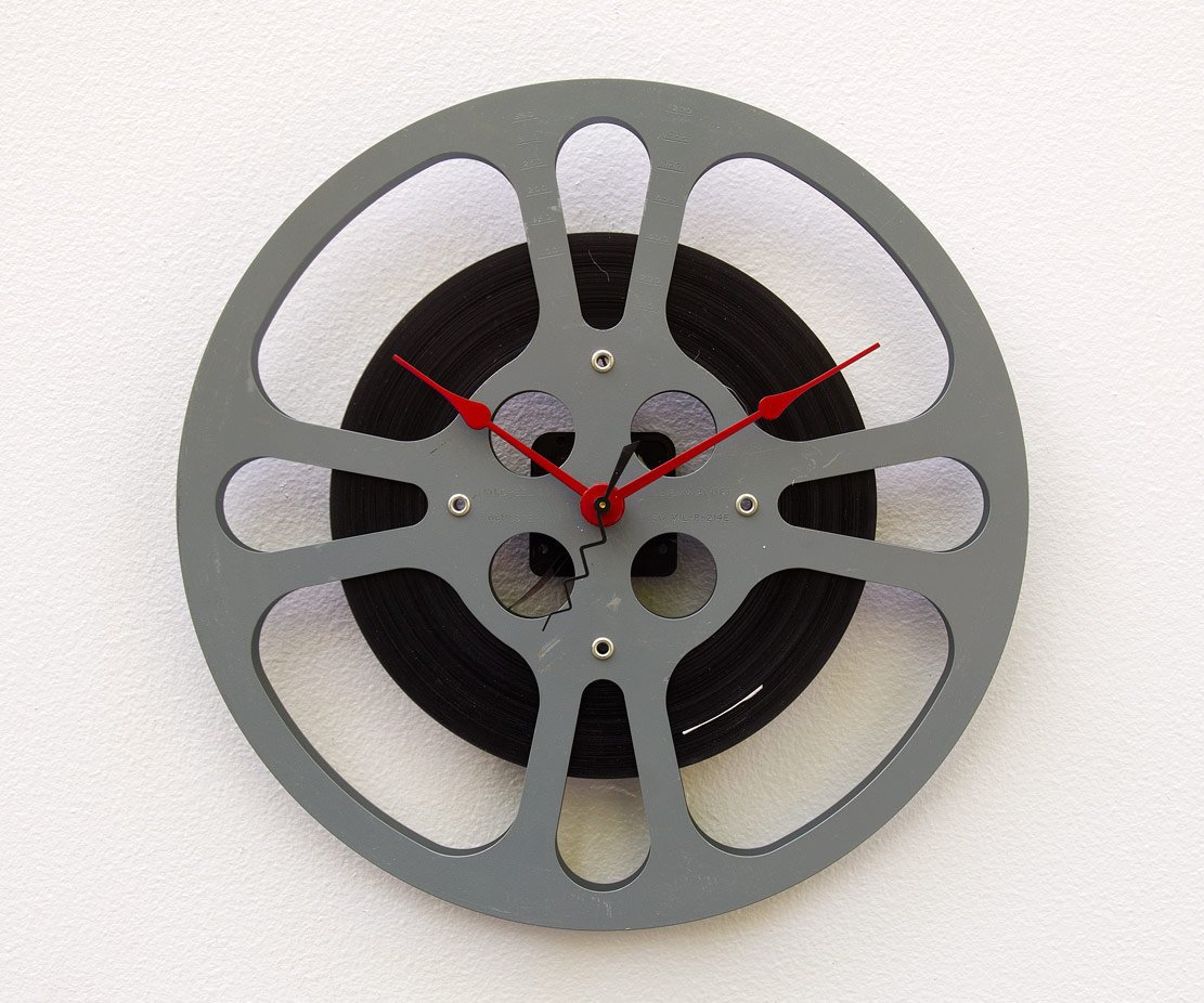 Movie Lover Clock