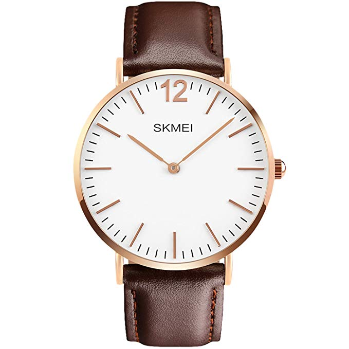 Men's Quartz Watch, Aposon Fashion Classic Business Analog Wrist Watch Casual Dress Leather Watches