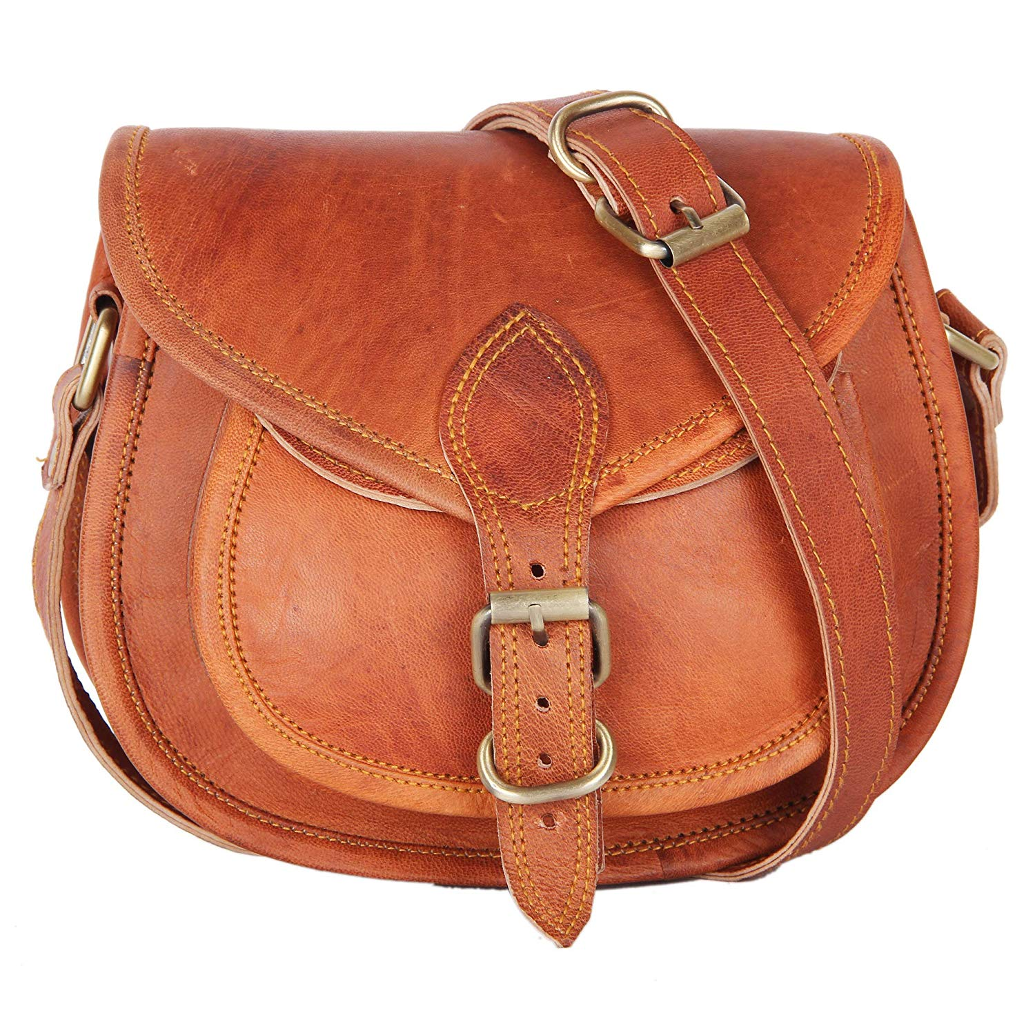 Woman's Native Leather Purse