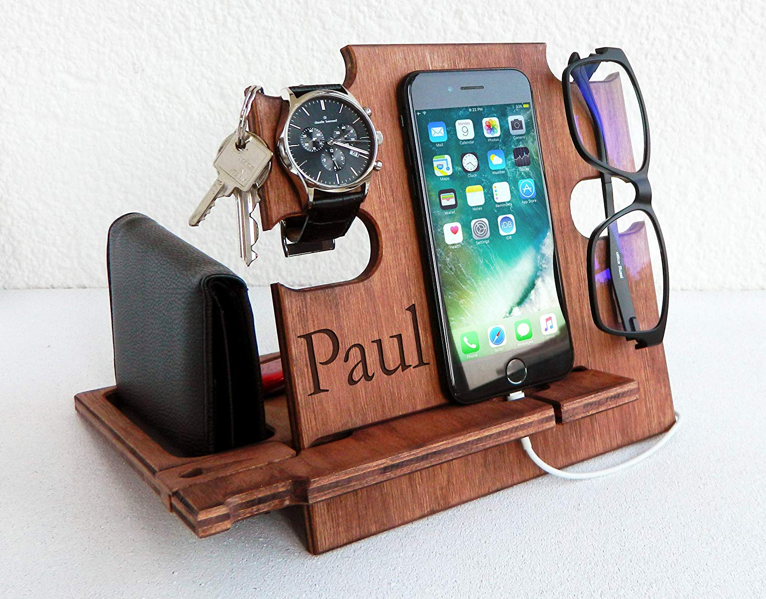 Personalized Men's Docking Station