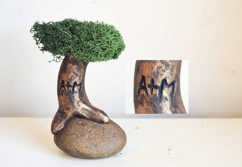 Personalized Tree with Initials