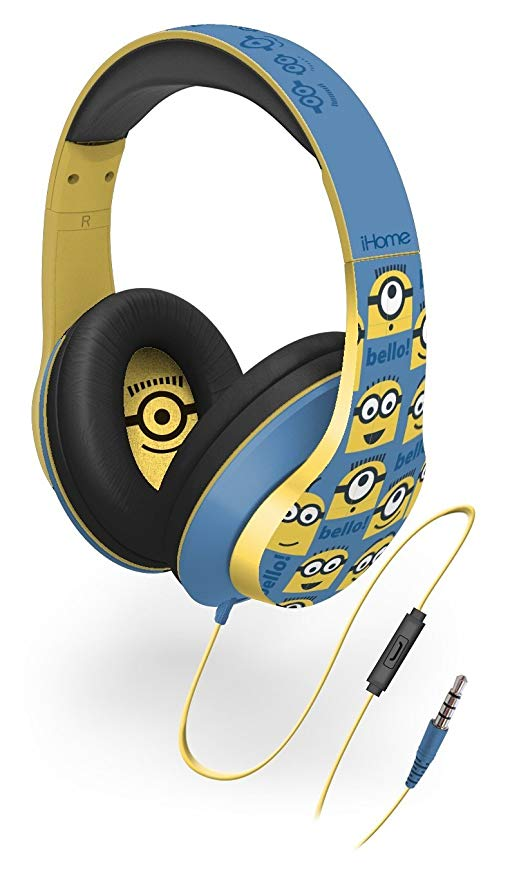 Minions from Despicable Me Over the Ear Headphones