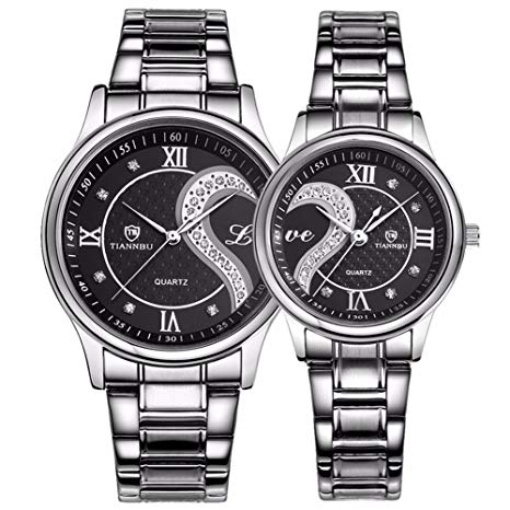 His And Her Quartz Analog Watch Set