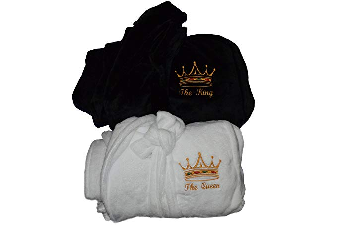 King And Queen Robes For Couples