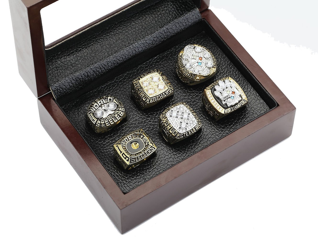Steelers Super Bowl Championship Rings Full Set Replica