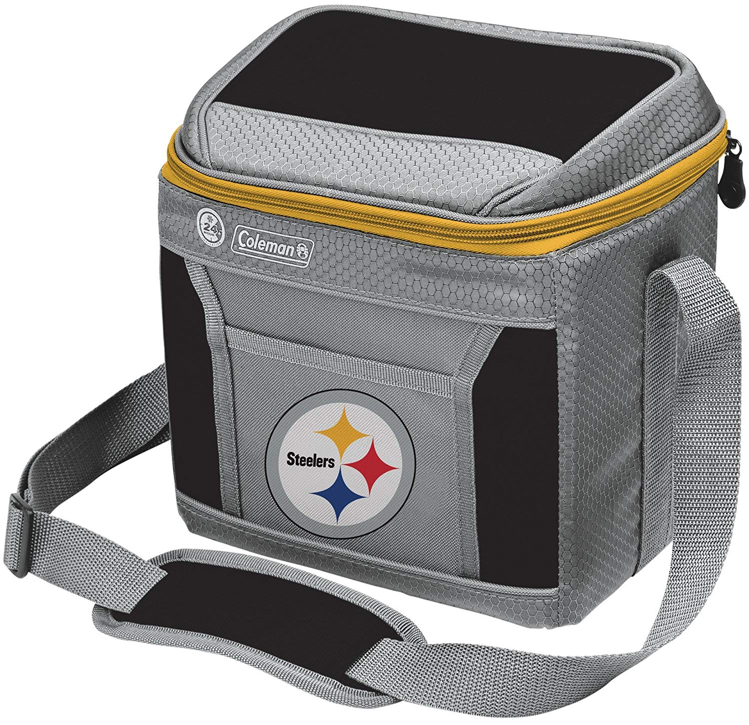 Steelers Soft-Sided Insulated Cooler and Lunch Box Bag