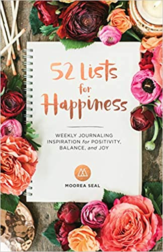"""""""52 Lists for Happiness"""" Journal"""
