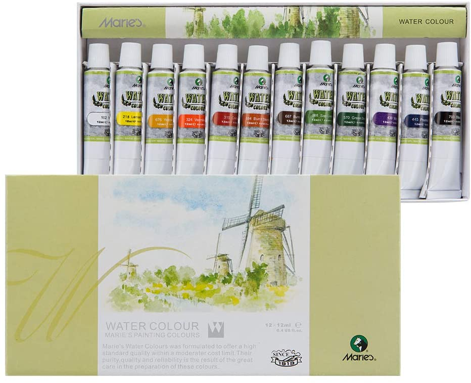 Marie's Watercolor Set for Students