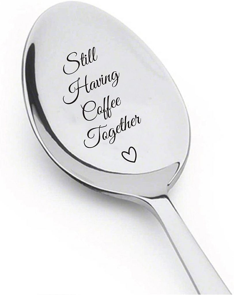 Stainless Steel Spoon With Message