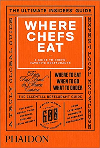 """""""Where Chefs Eat"""" Guide"""