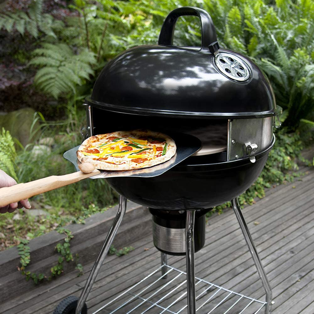 Kettle Grill Conversion Kit for Outdoor Pizza Oven