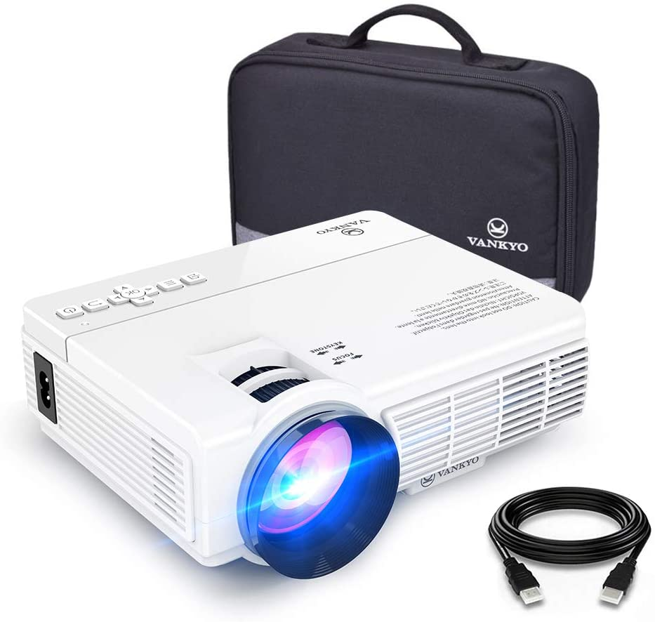 Portable Mini Projector with LED Lamp