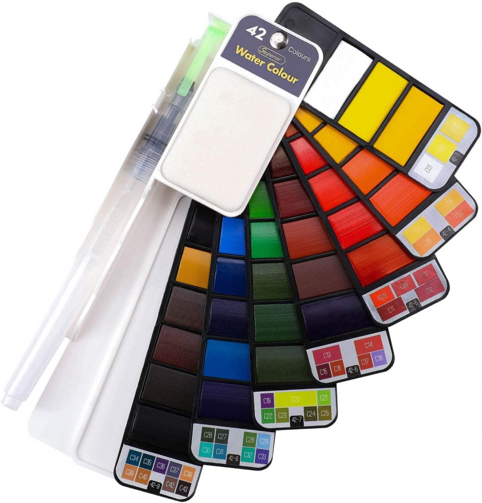Dyvicl 42 Water Color Set